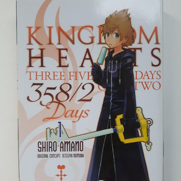 3/$30 Kingdom Hearts 358/2 Days Manga